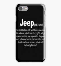 Jeep - Noun iPhone Case/Skin