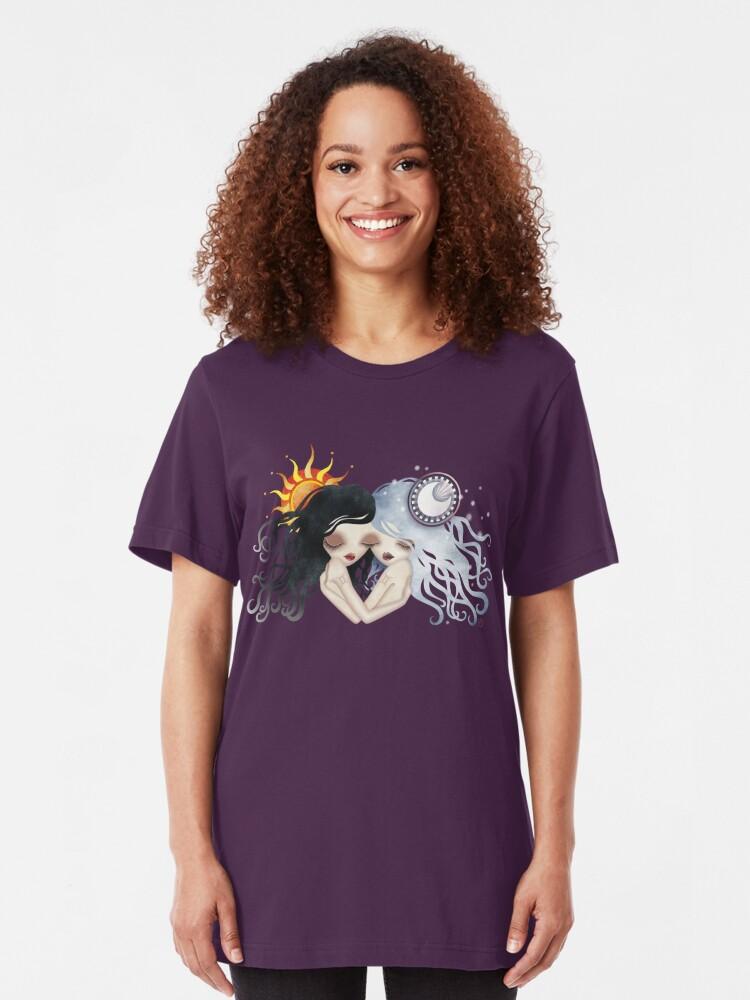 Alternate view of Emma & Gemma (Gemini) ~ Zodiac Series  Slim Fit T-Shirt