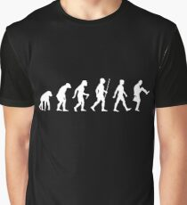 Evolution of Man (White Version) Graphic T-Shirt