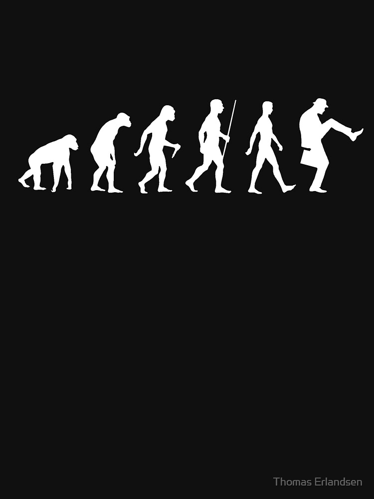 Evolution of Man (White Version) | Unisex T-Shirt