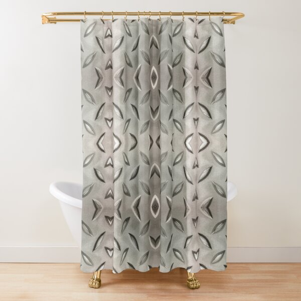 Stainless Steel Floor Plate Shower Curtain