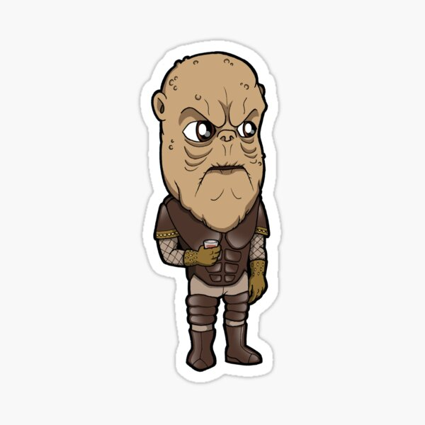 Star Trek DS9 - Morn the Lurian with Drink Sticker
