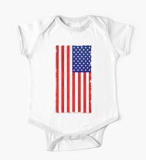 Abstract USA Flag Kids Clothes