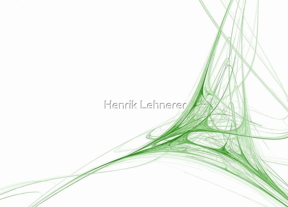 Fractal 41 Green by Henrik Lehnerer