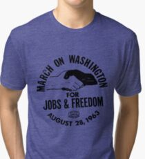 March on Washington for Jobs and Freedom Tri-blend T-Shirt