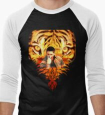 Jensen's eye of the tiger Men's Baseball ¾ T-Shirt