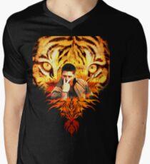 Jensen's eye of the tiger Men's V-Neck T-Shirt