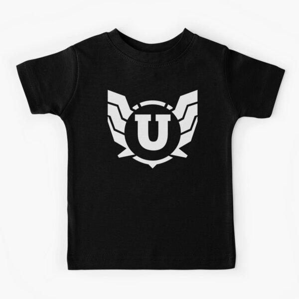 Superhero Letter U. Power of Wings Kids T-Shirt