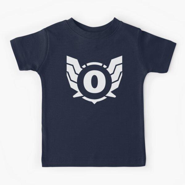 Superhero Letter O. Power of Wings Kids T-Shirt