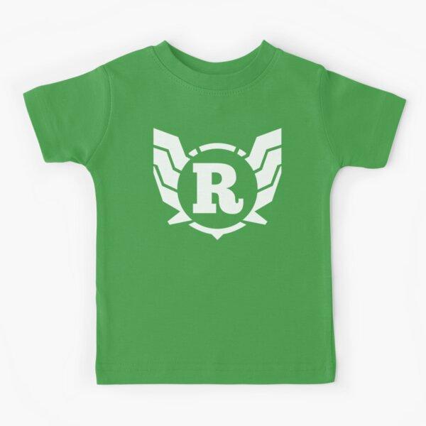 Superhero Letter R. Power of Wings Kids T-Shirt