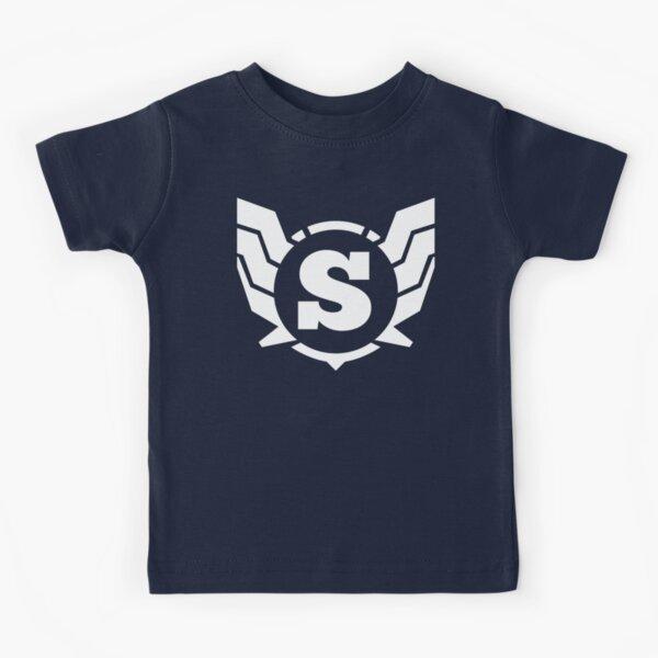Superhero Letter S. Power of Wings Kids T-Shirt