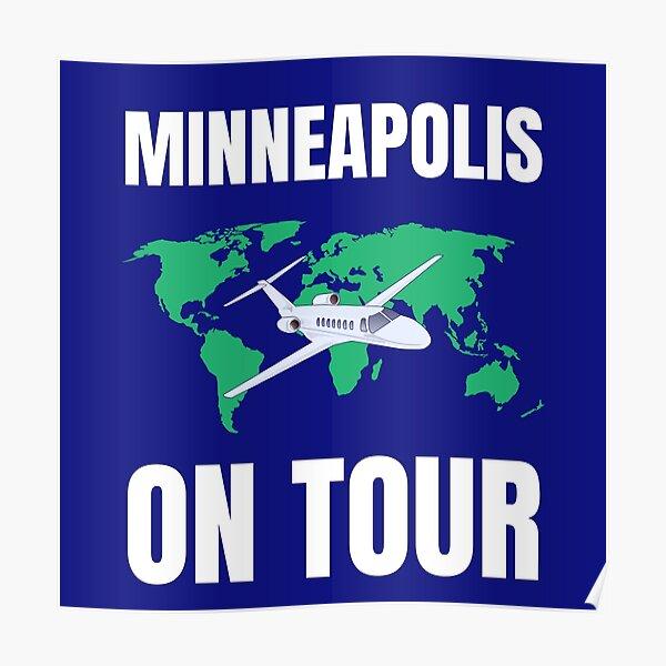 Minneapolis on tour Poster