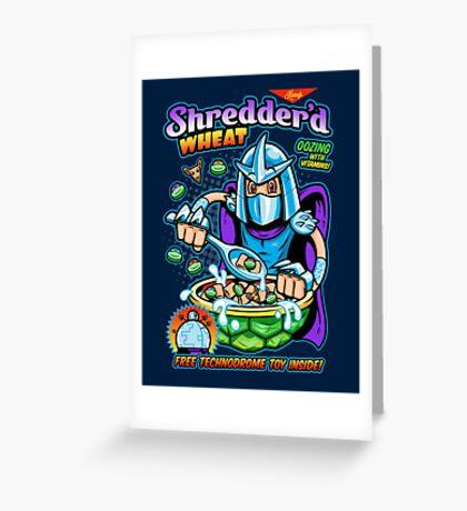 Shreddered Wheat Greeting Card
