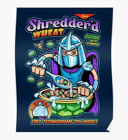 Shreddered Wheat Poster