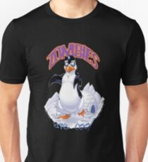 Zombies Are Cool - Necromancer Penguin T-Shirt