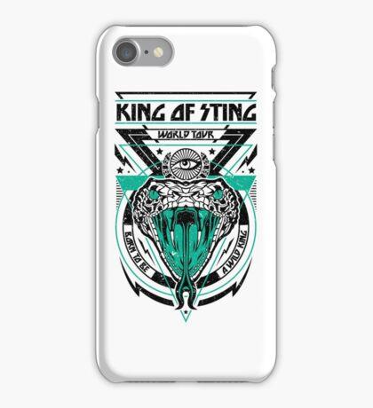 King of Sting iPhone Case/Skin