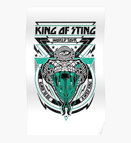 King of Sting Poster
