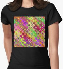 Colorful Abstract Pattern T-Shirt