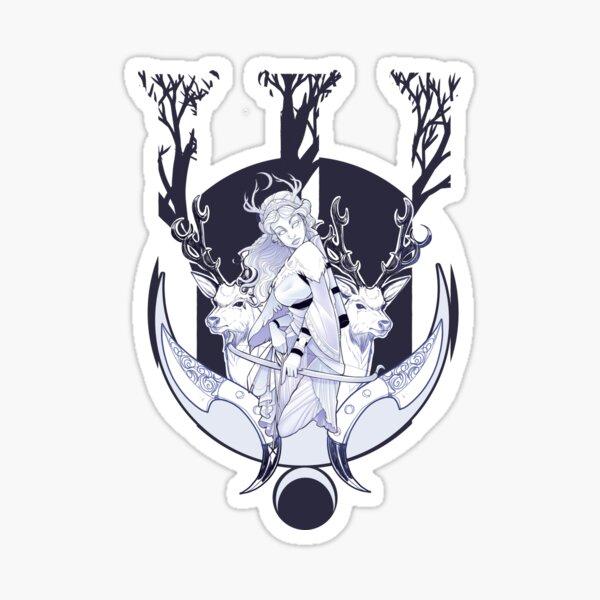 Artemis. Guardian of the Wilderness Sticker