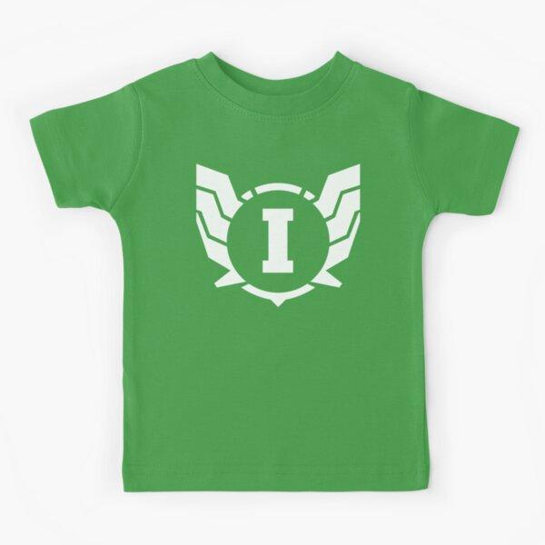 Superhero Letter I. Power of Wings Kids T-Shirt