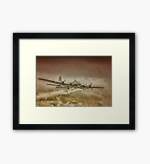 B17 Flying Fortress Framed Print