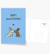 Hoppy Anniversary Postcards