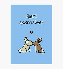 Hoppy Anniversary Photographic Print