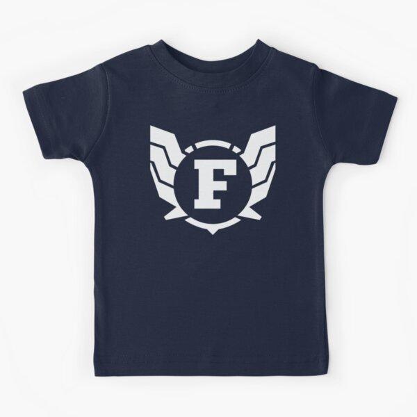Superhero Letter F. Power of Wings Kids T-Shirt