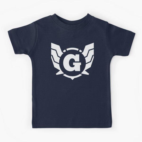 Superhero Letter G. Power of Wings Kids T-Shirt
