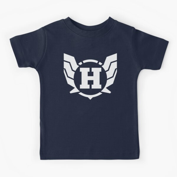 Superhero Letter H. Power of Wings Kids T-Shirt