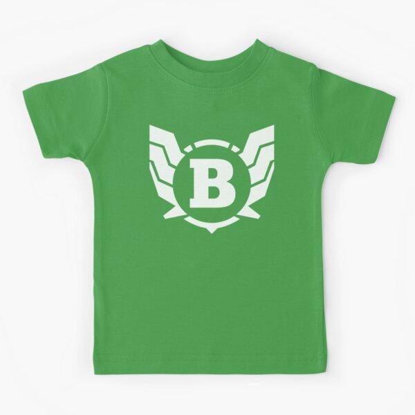 Superhero Letter B. Power of Wings Kids T-Shirt