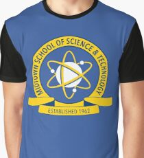 Midtown School of Science and Technology Logo Graphic T-Shirt