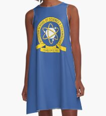 aa8d810d Midtown School of Science and Technology Logo A-Line Dress