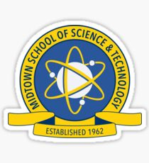Midtown School of Science and Technology Logo Sticker