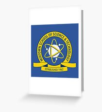 Midtown School of Science and Technology Logo Greeting Card
