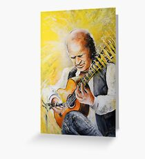Paco de Lucia Greeting Card