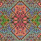 3-D Mosaic Pattern by Lyle Hatch