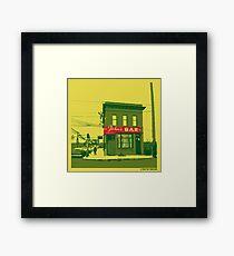 John's Bar Framed Print