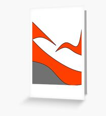 Colour Blocks Greeting Card