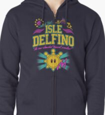 Isle Delfino Zipped Hoodie