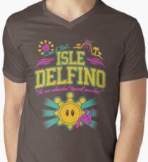 Isle Delfino Men's V-Neck T-Shirt