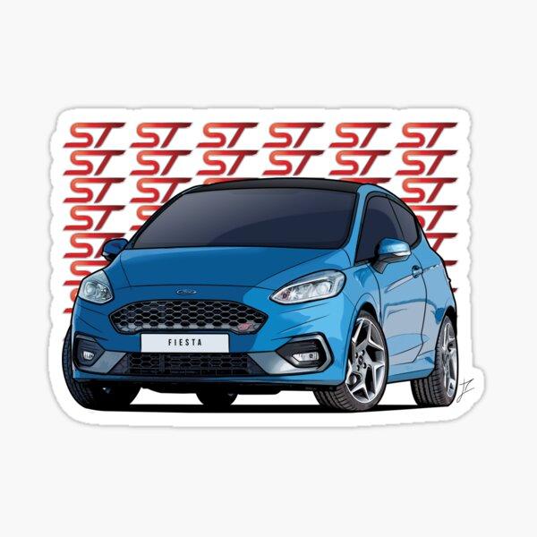 Ford Fiesta ST - Fiesta MK8 Sticker