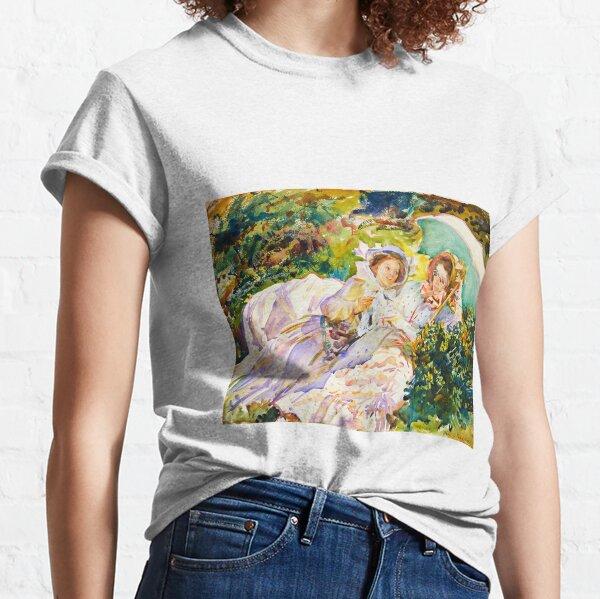 Simplon Pass: The Tease - John Singer Sargent Classic T-Shirt