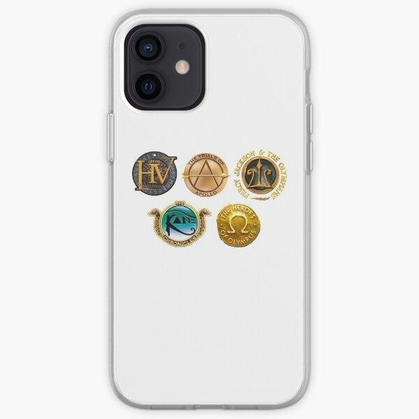 Rick Riordan Logo's iPhone Soft Case