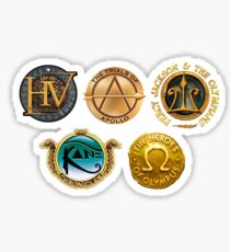 Rick Riordan Logo's Sticker