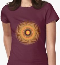 Central Sun Womens Fitted T-Shirt