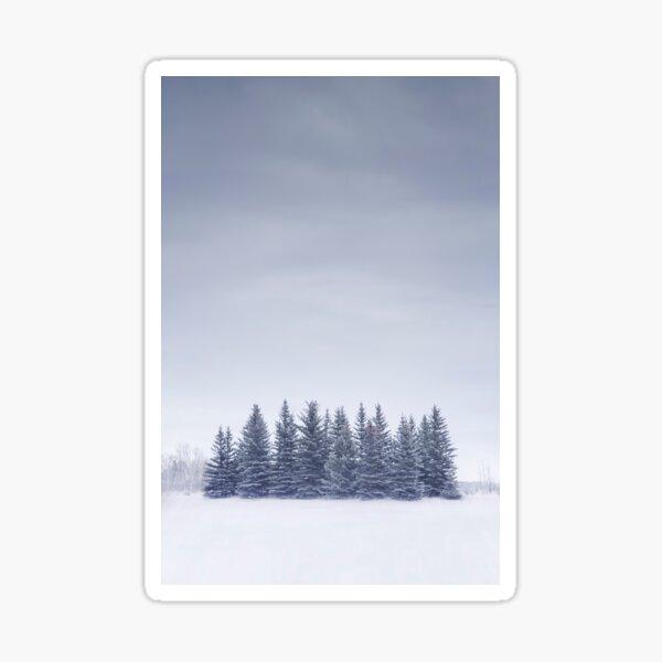 Winterscape Sticker