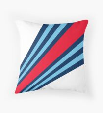 Martini Stripes  Throw Pillow