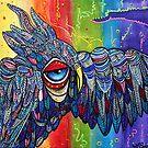 Street Wise Owl 2 by Laura Barbosa