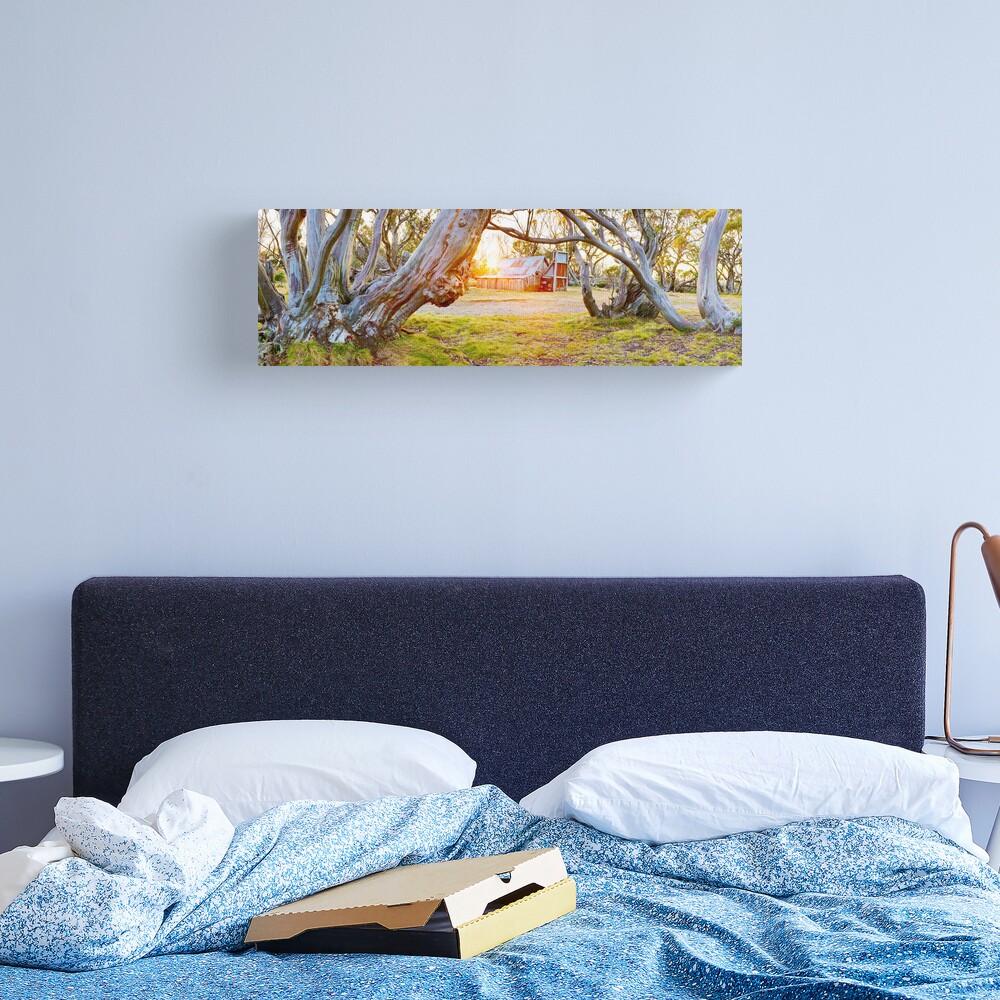 Wallace Hut, Falls Creek, Victoria, Australia Canvas Print